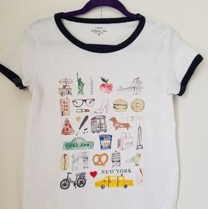 J. Crew New York City Collector Tee